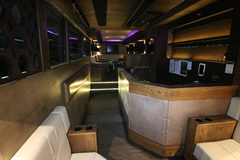 Party Bus Limo Coaches Inside image